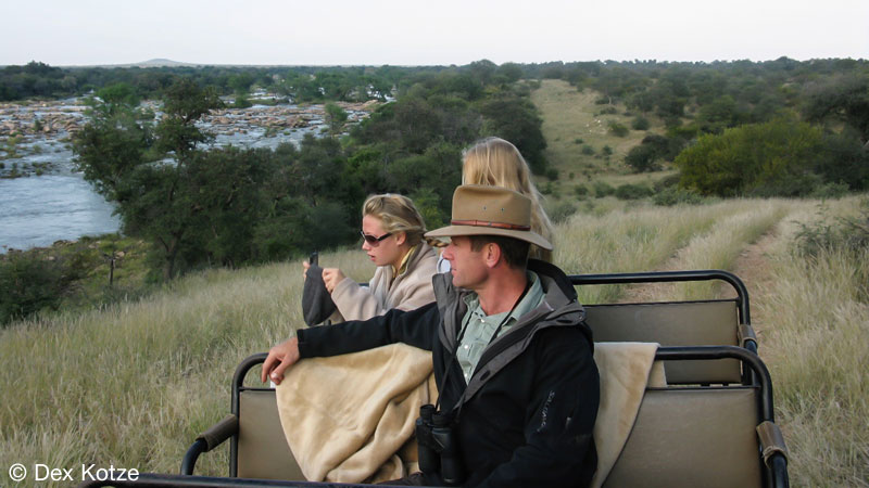 Game Drive - Limpopo-Lipadi Private Game Reserve, Botswana