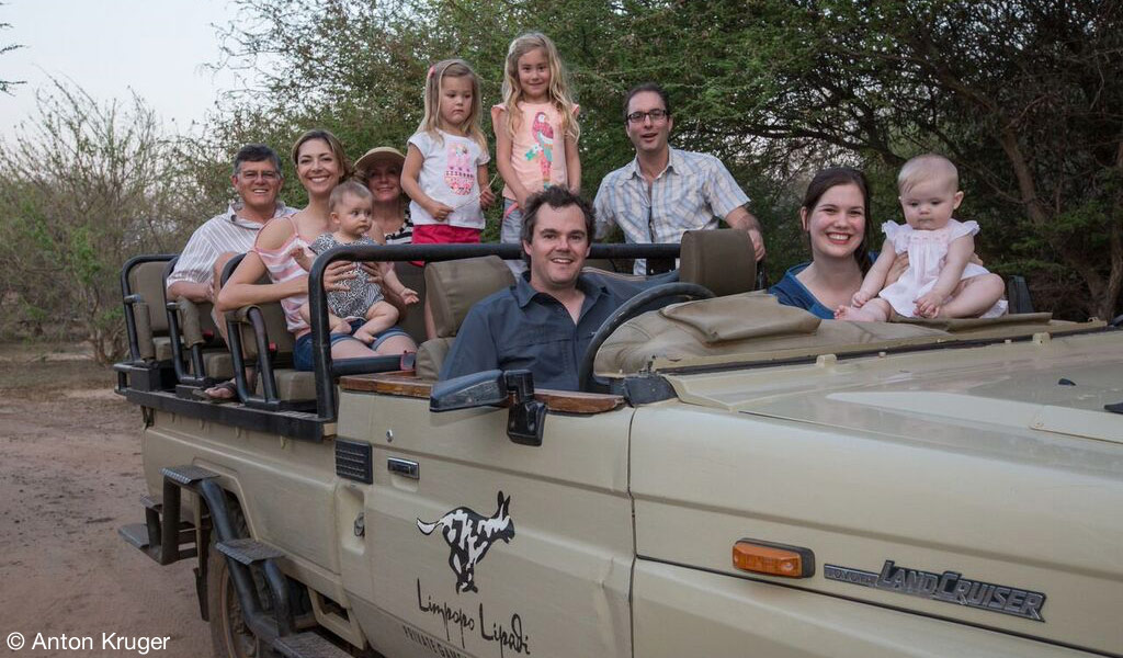 Shareholders enjoying a game drive - Limpopo-Lipadi Private Game Reserve, Botswana